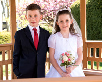 Lilly and Matthew's Communion